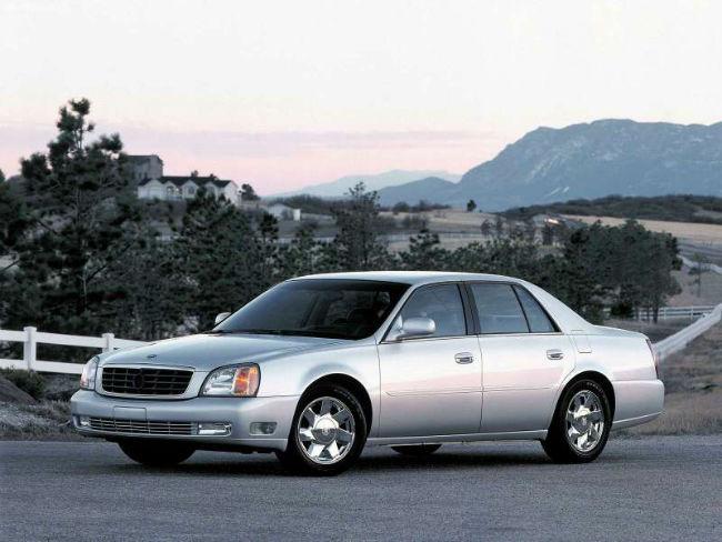 Cadillac DTS 2012