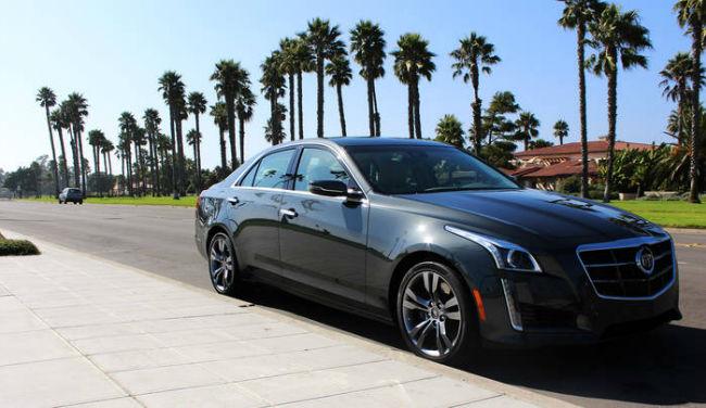 Cadillac STS 2015