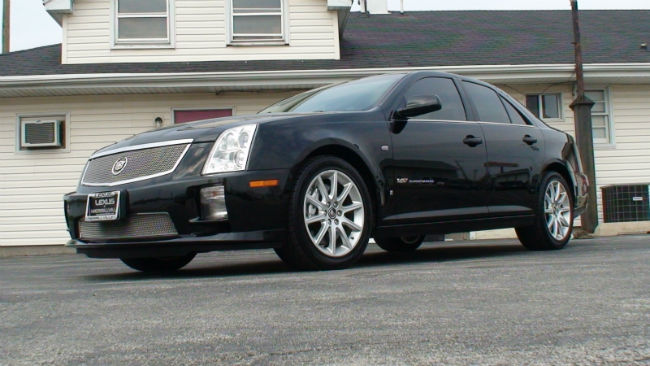Cadillac STS-V Black
