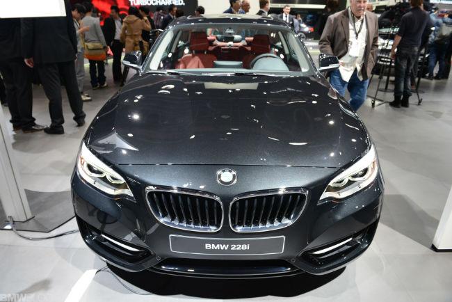 2015 BMW 228 Facelift
