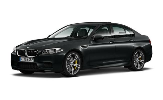 2015 BMW M5 Black