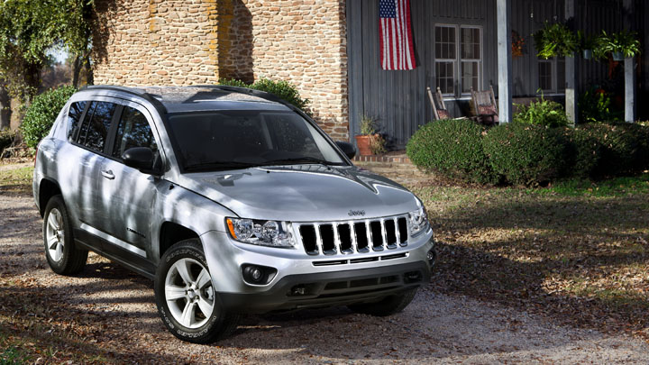 2013 Jeep Compass Silver