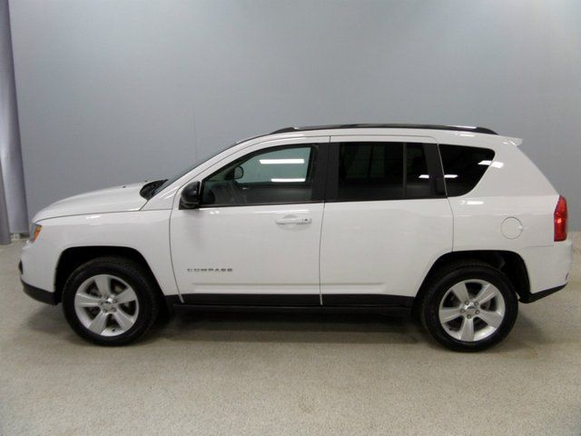 2013 Jeep Compass White