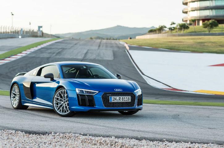 Audi R8 2017 Blue