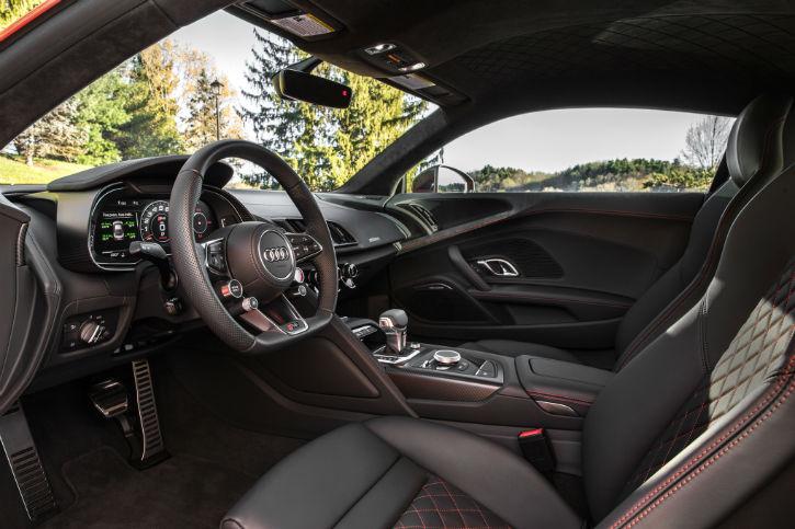 Audi R8 2017 Interior