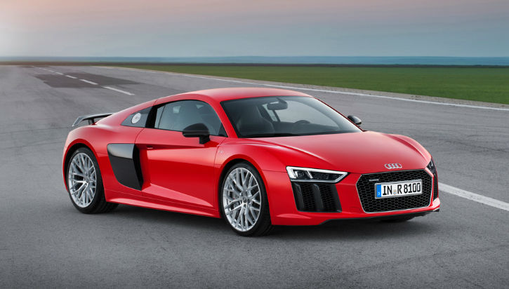 Audi R8 2017 Red