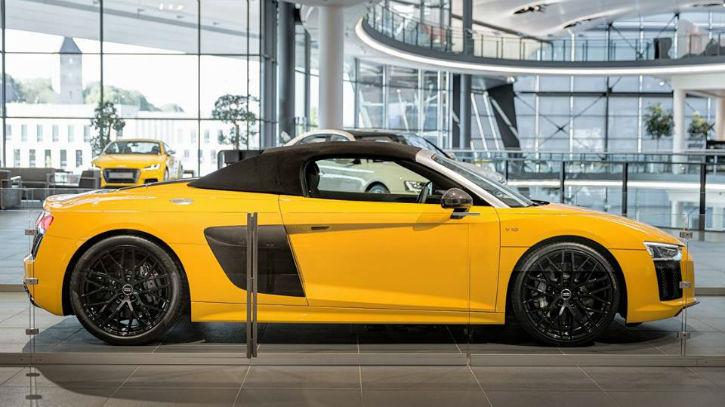 Audi R8 2017 Spyder