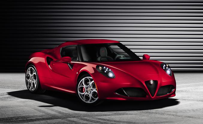 2017 Alfa Romeo 4C Model