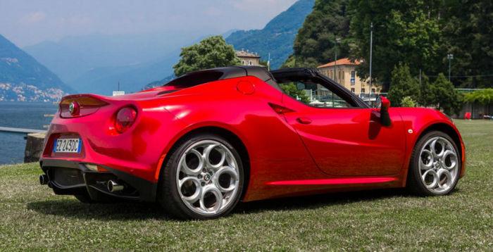 2017 Alfa Romeo 4C Wheels