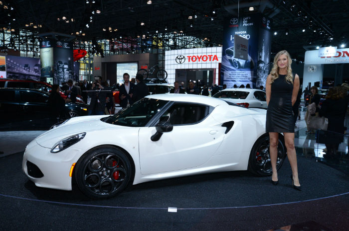 2017 Alfa Romeo 4c Coupe Launch