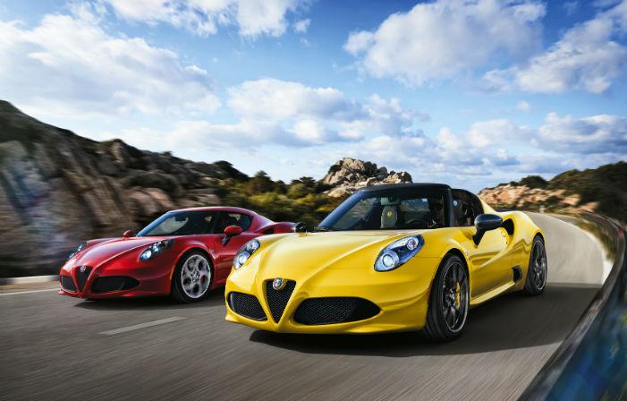 2017 Alfa Romeo 4c Coupe on Youtube
