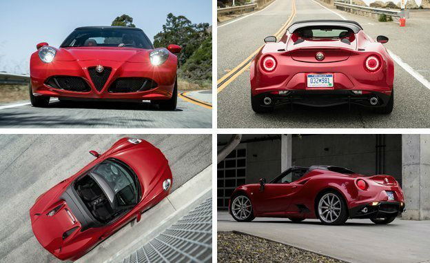 2017 Alfa Romeo 4c Coupe vs Spider