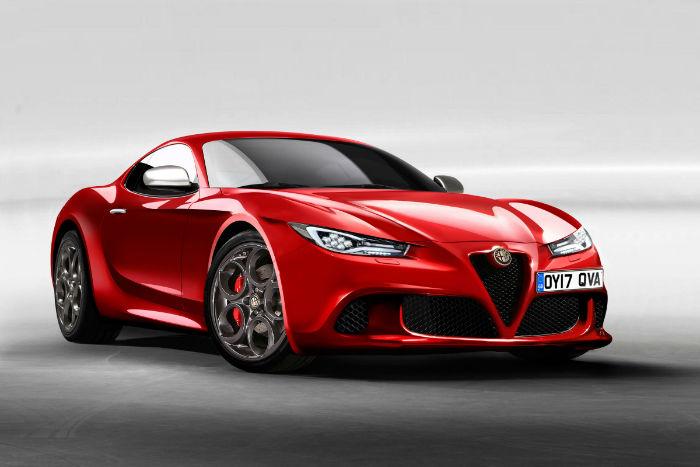 2017 Alfa Romeo 6c Model