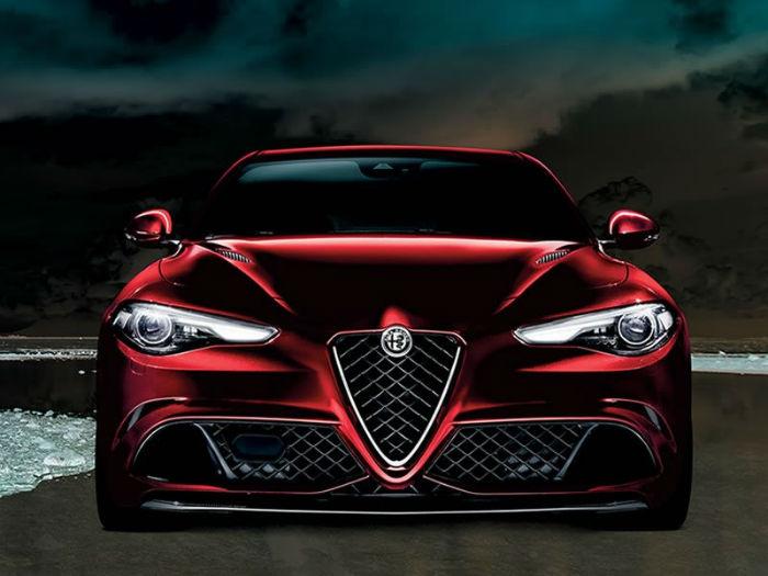 2017 Alfa Romeo Giulia Quadrifoglio Facelift