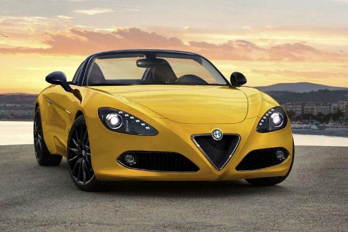 2017 Alfa Romeo Spyder Convertible
