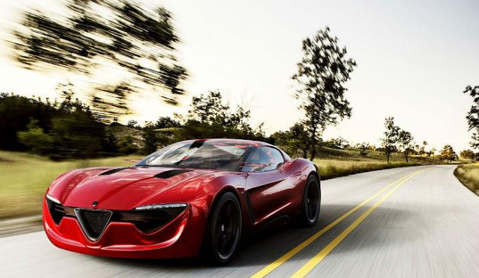 2017 Alfa Romeo Spyder Model