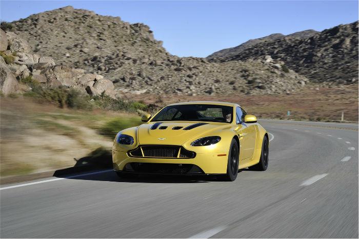 2017 Alfa Romeo V12 Vantage Yellow Tang