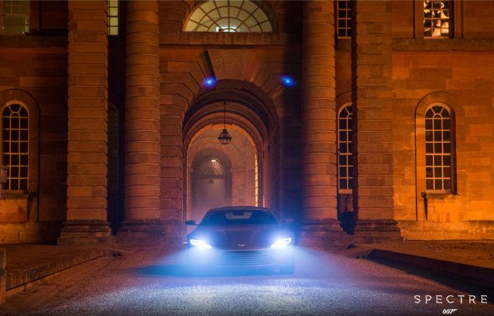 2017 Aston Martin DB10 Headlights