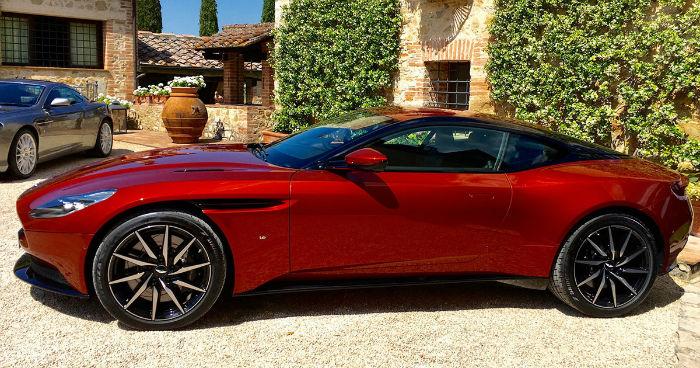 2017 Aston Martin DB11 Red