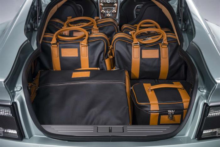 2017 Aston Martin Rapide S Cargo Space