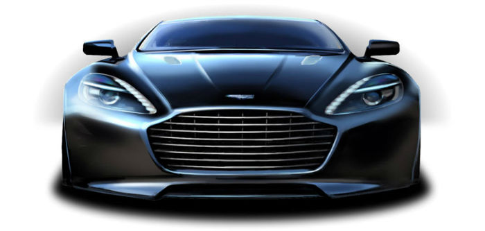 2017 Aston Martin Rapide S Sketch Design