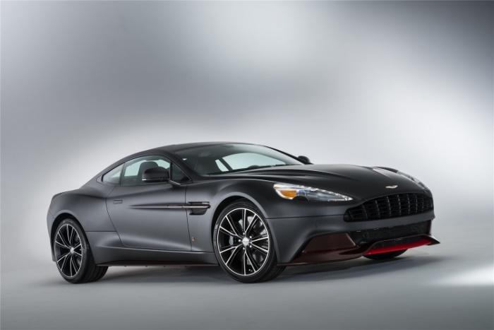 2017 Aston-Martin Vanquish Coupe