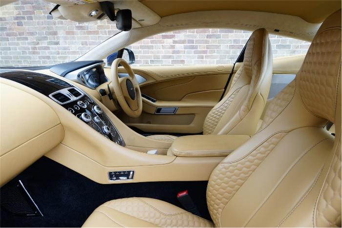 2017 Aston Martin Vanquish Interior