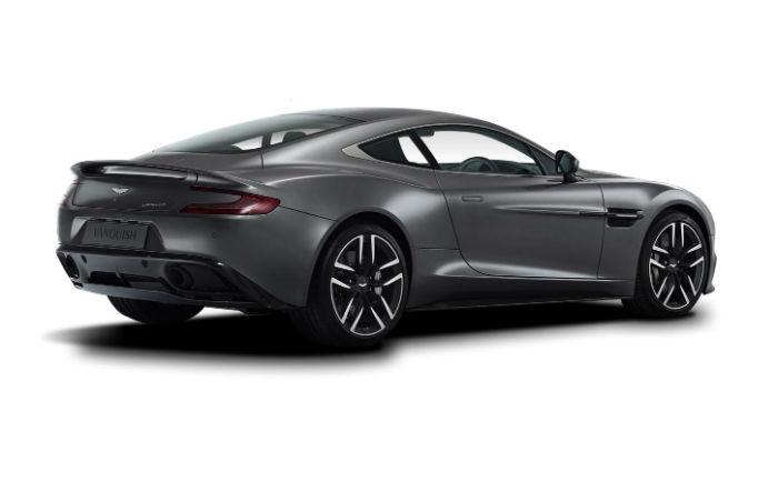 2017 Aston Martin Vanquish Model