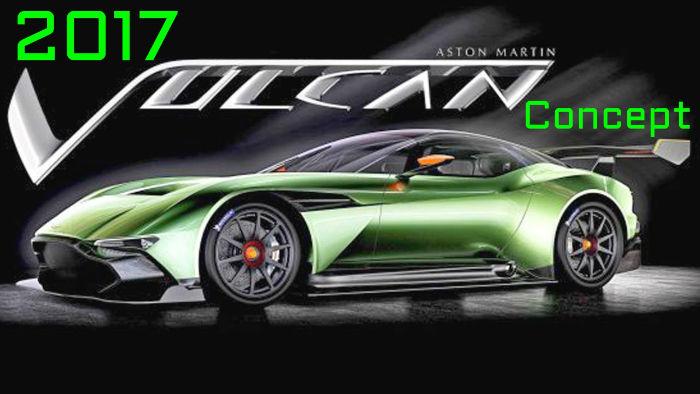 2017 Aston Martin Vulcan Concept