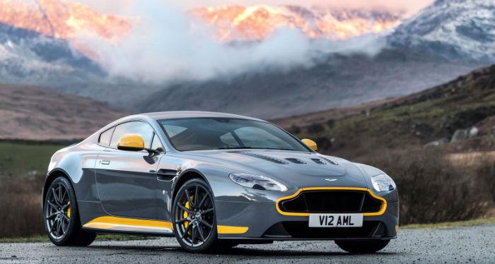 2017 Aston Martin v12 Vantage S Model