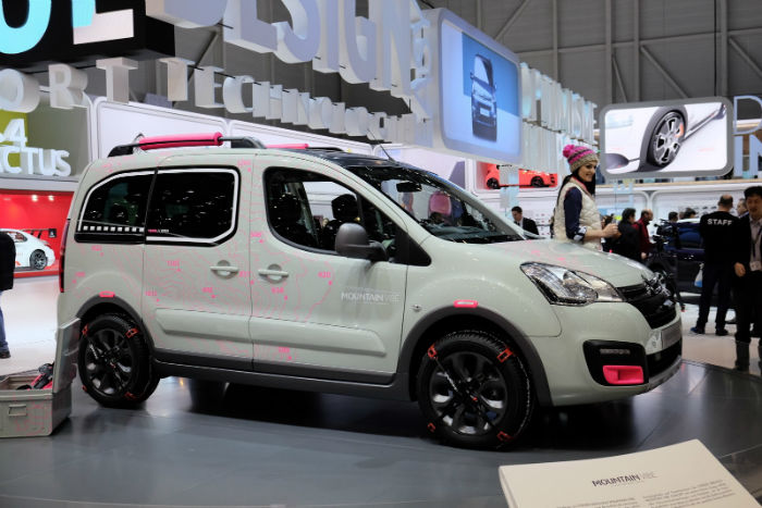 2017 Citroen Berlingo Model