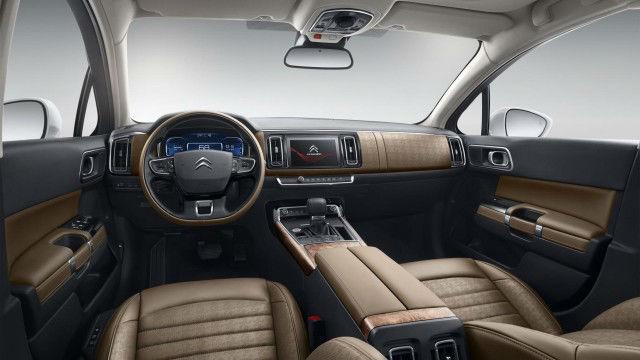 2017 Citroen C6 Interior