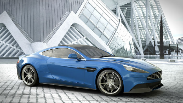 Aston Martin DBS 2015