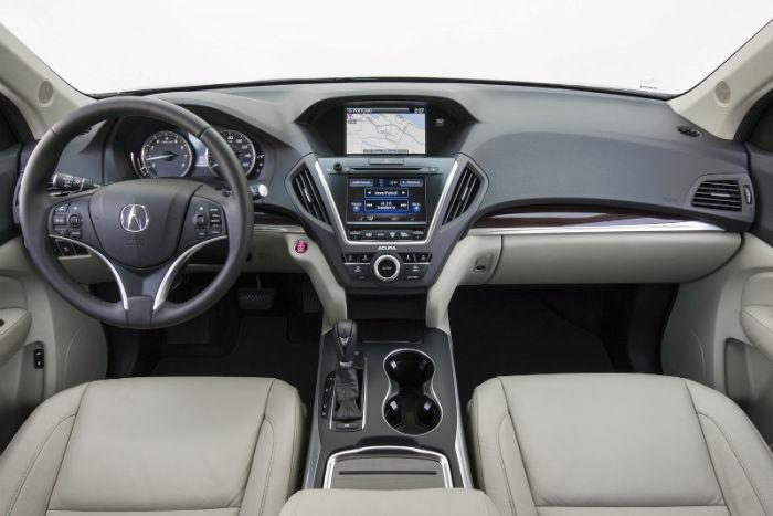 Acura ZDX 2016 Interior