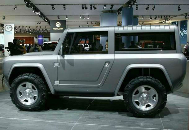 Ford Bronco Concept 2016