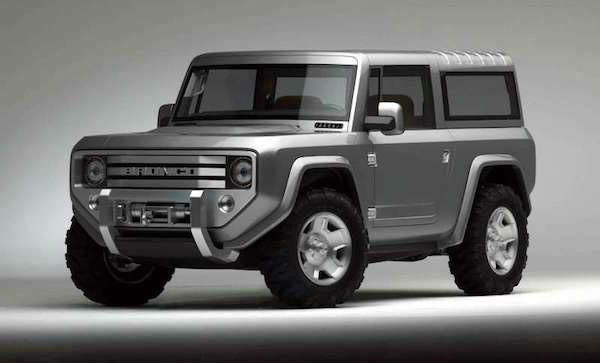 Ford Bronco Concept 2020