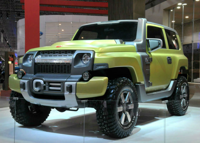 Ford Bronco Concept Car