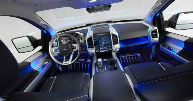 Ford Bronco Concept Interior