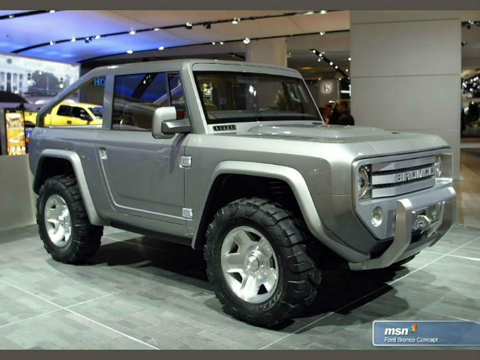Ford Bronco Concept Truck