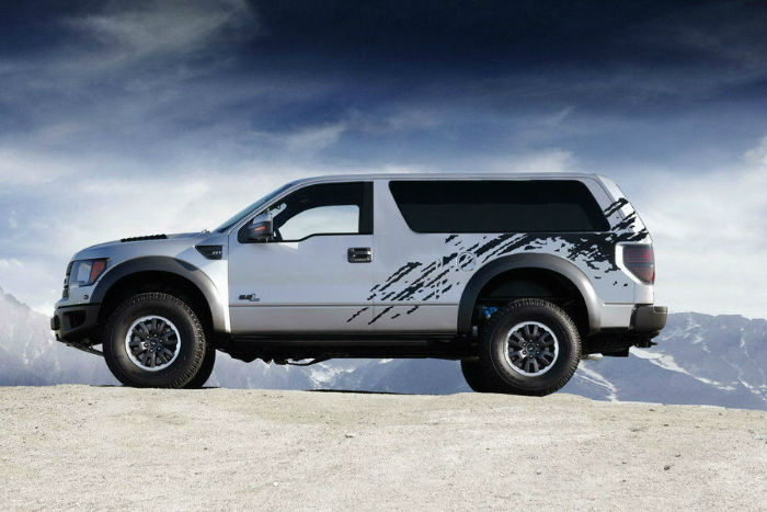 Ford Bronco Raptor Concept