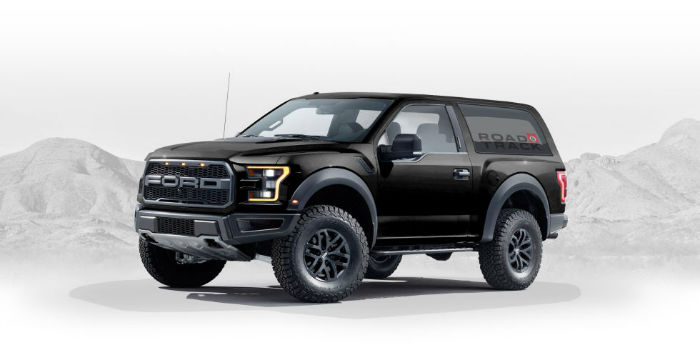 2020 Ford Bronco Black