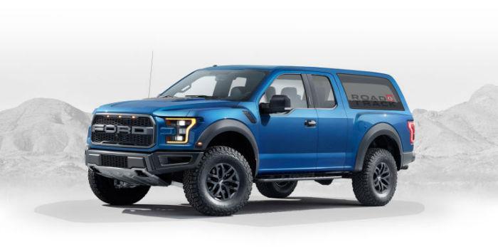 2020 Ford Bronco Model
