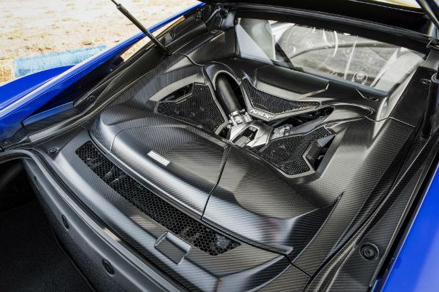 2017 Acura NSX Engine
