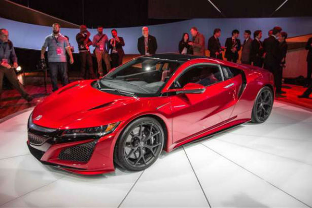 2017 Acura NSX MSRP