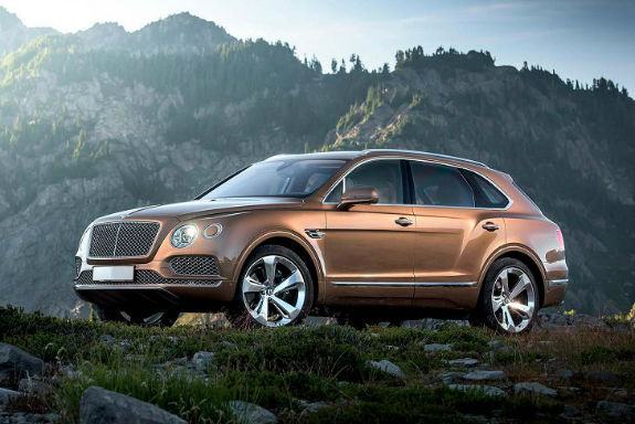 2017 Bentley Bentayga MSRP