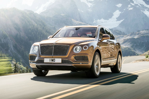 2017 Bentley Bentayga Model
