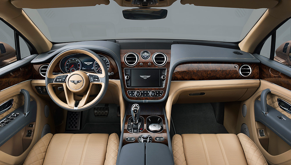Bentley Bentayga 2017 Interior
