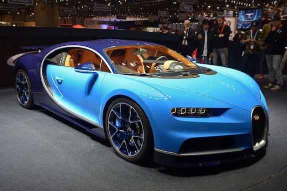2017 Bugatti Chiron Model