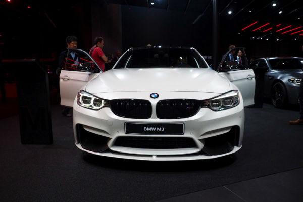 2017 BMW M3 White