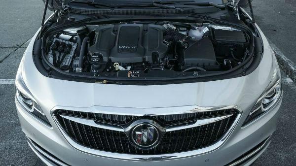 2017 Buick LaCrosse Engine